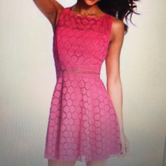Trixxi Dresses Juniors Crochet Skater Dress Poshmark